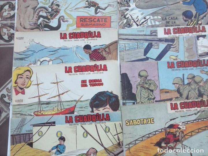 Tebeos: LA CUADRILLA ORIGINAL COMPLETA Y SUELTA - 1 AL 45 - EDI. MAGA 1961 -VER TODAS LAS PORTADAS - Foto 11 - 102019691