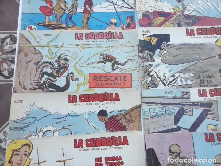 Tebeos: LA CUADRILLA ORIGINAL COMPLETA Y SUELTA - 1 AL 45 - EDI. MAGA 1961 -VER TODAS LAS PORTADAS - Foto 12 - 102019691