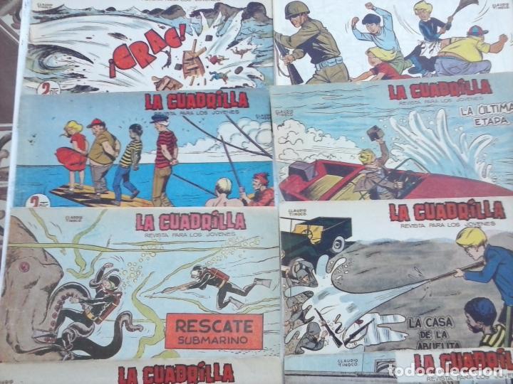 Tebeos: LA CUADRILLA ORIGINAL COMPLETA Y SUELTA - 1 AL 45 - EDI. MAGA 1961 -VER TODAS LAS PORTADAS - Foto 13 - 102019691