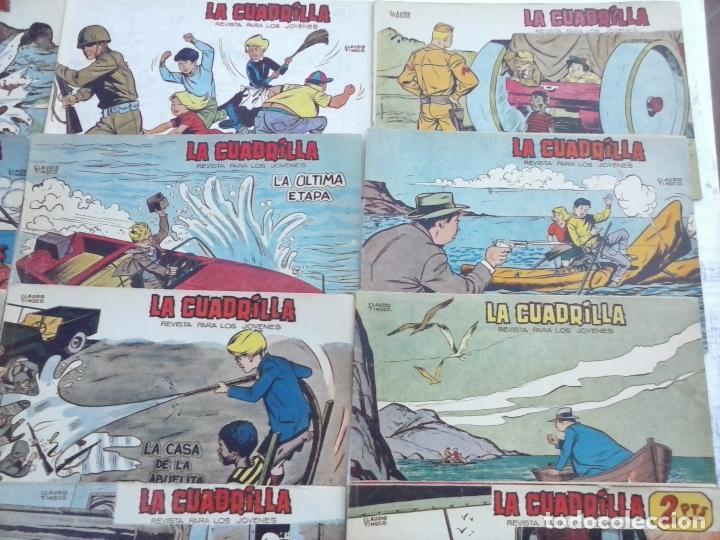 Tebeos: LA CUADRILLA ORIGINAL COMPLETA Y SUELTA - 1 AL 45 - EDI. MAGA 1961 -VER TODAS LAS PORTADAS - Foto 14 - 102019691
