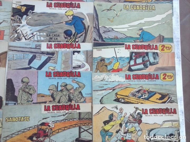Tebeos: LA CUADRILLA ORIGINAL COMPLETA Y SUELTA - 1 AL 45 - EDI. MAGA 1961 -VER TODAS LAS PORTADAS - Foto 15 - 102019691