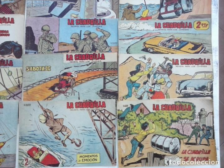 Tebeos: LA CUADRILLA ORIGINAL COMPLETA Y SUELTA - 1 AL 45 - EDI. MAGA 1961 -VER TODAS LAS PORTADAS - Foto 16 - 102019691