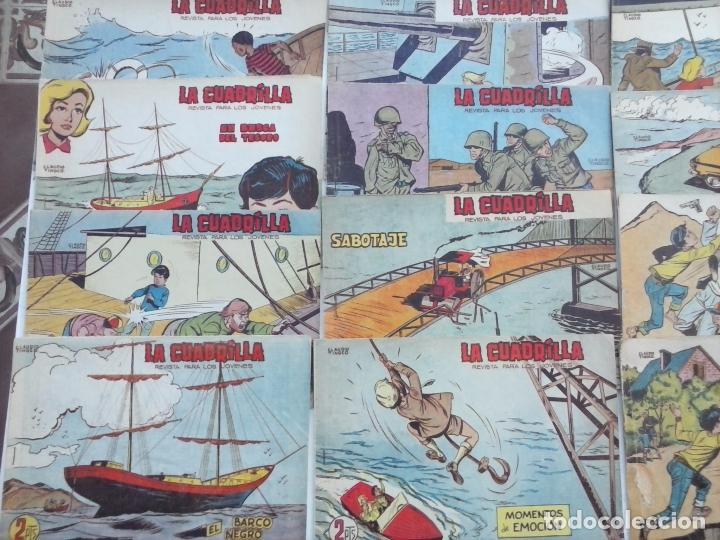 Tebeos: LA CUADRILLA ORIGINAL COMPLETA Y SUELTA - 1 AL 45 - EDI. MAGA 1961 -VER TODAS LAS PORTADAS - Foto 17 - 102019691