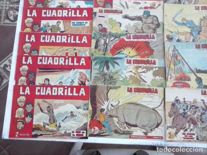 Tebeos: LA CUADRILLA ORIGINAL COMPLETA Y SUELTA - 1 AL 45 - EDI. MAGA 1961 -VER TODAS LAS PORTADAS - Foto 18 - 102019691