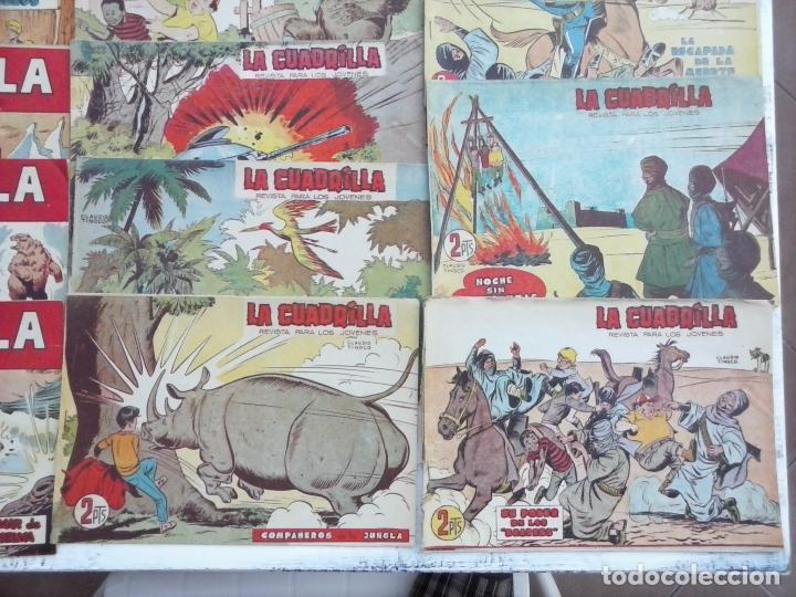 Tebeos: LA CUADRILLA ORIGINAL COMPLETA Y SUELTA - 1 AL 45 - EDI. MAGA 1961 -VER TODAS LAS PORTADAS - Foto 19 - 102019691