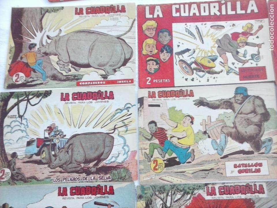 Tebeos: LA CUADRILLA ORIGINAL COMPLETA Y SUELTA - 1 AL 45 - EDI. MAGA 1961 -VER TODAS LAS PORTADAS - Foto 21 - 102019691