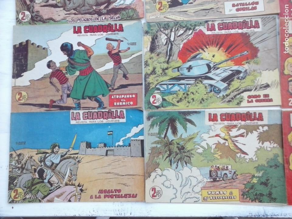 Tebeos: LA CUADRILLA ORIGINAL COMPLETA Y SUELTA - 1 AL 45 - EDI. MAGA 1961 -VER TODAS LAS PORTADAS - Foto 22 - 102019691