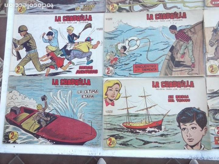 Tebeos: LA CUADRILLA ORIGINAL COMPLETA Y SUELTA - 1 AL 45 - EDI. MAGA 1961 -VER TODAS LAS PORTADAS - Foto 23 - 102019691