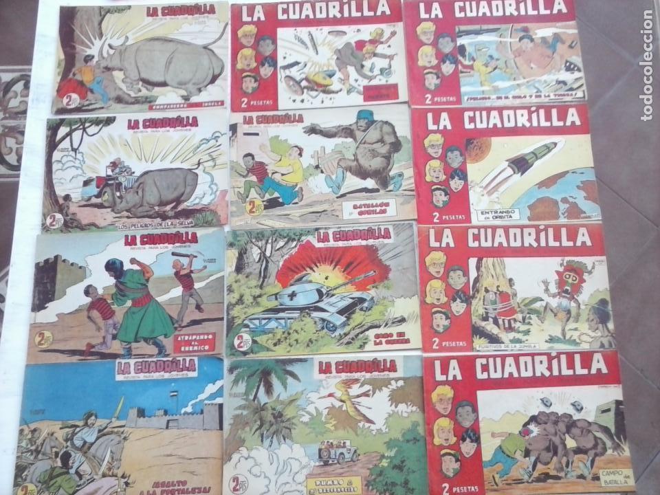 Tebeos: LA CUADRILLA ORIGINAL COMPLETA Y SUELTA - 1 AL 45 - EDI. MAGA 1961 -VER TODAS LAS PORTADAS - Foto 24 - 102019691