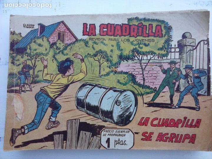 Tebeos: LA CUADRILLA ORIGINAL COMPLETA Y SUELTA - 1 AL 45 - EDI. MAGA 1961 -VER TODAS LAS PORTADAS - Foto 25 - 102019691