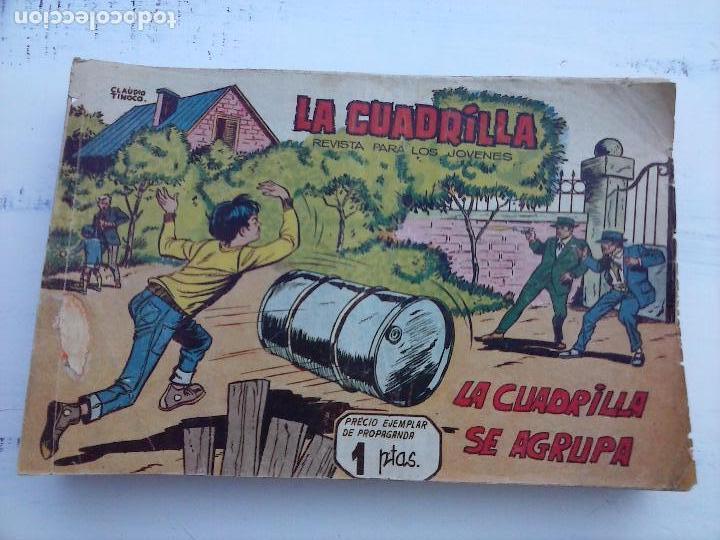 Tebeos: LA CUADRILLA ORIGINAL COMPLETA Y SUELTA - 1 AL 45 - EDI. MAGA 1961 -VER TODAS LAS PORTADAS - Foto 26 - 102019691