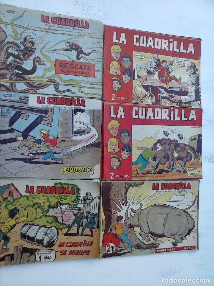 Tebeos: LA CUADRILLA ORIGINAL COMPLETA Y SUELTA - 1 AL 45 - EDI. MAGA 1961 -VER TODAS LAS PORTADAS - Foto 27 - 102019691