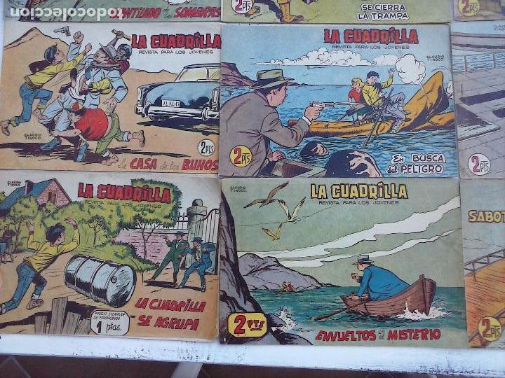 Tebeos: LA CUADRILLA ORIGINAL COMPLETA Y SUELTA - 1 AL 45 - EDI. MAGA 1961 -VER TODAS LAS PORTADAS - Foto 29 - 102019691