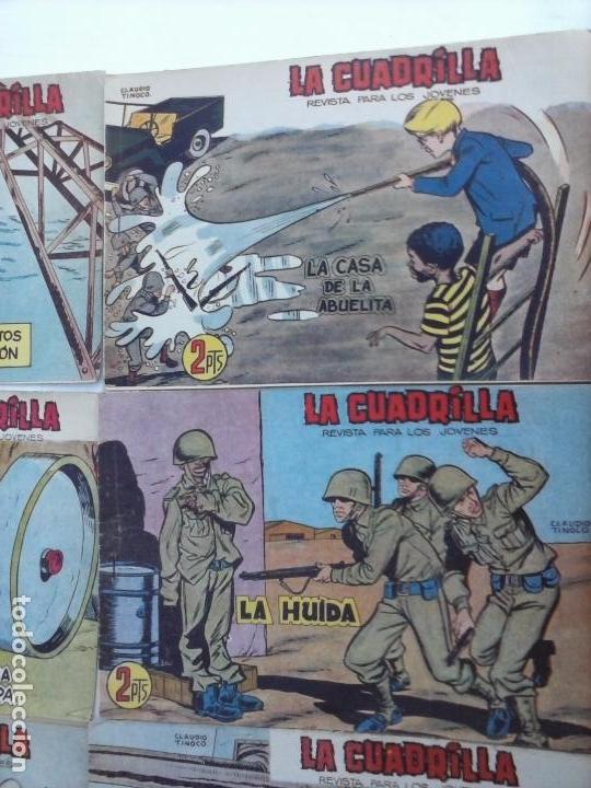 Tebeos: LA CUADRILLA ORIGINAL COMPLETA Y SUELTA - 1 AL 45 - EDI. MAGA 1961 -VER TODAS LAS PORTADAS - Foto 31 - 102019691