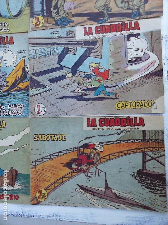 Tebeos: LA CUADRILLA ORIGINAL COMPLETA Y SUELTA - 1 AL 45 - EDI. MAGA 1961 -VER TODAS LAS PORTADAS - Foto 32 - 102019691