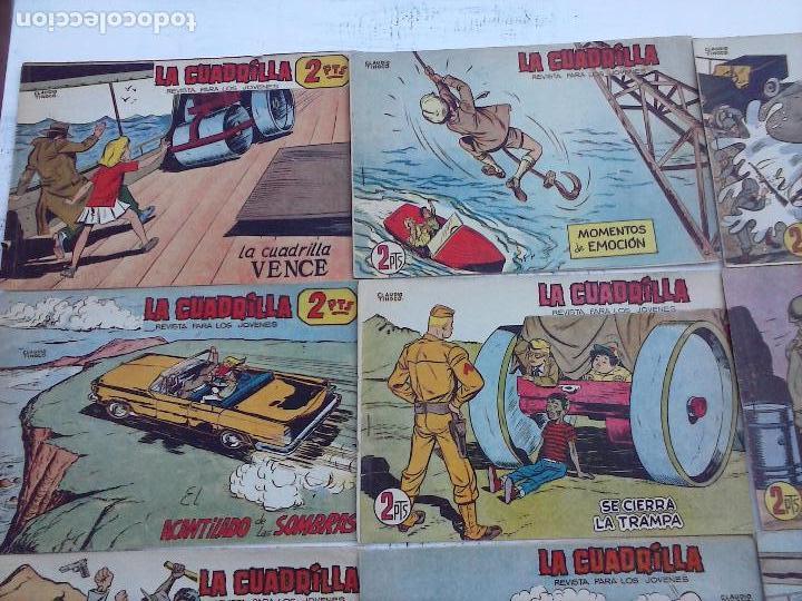 Tebeos: LA CUADRILLA ORIGINAL COMPLETA Y SUELTA - 1 AL 45 - EDI. MAGA 1961 -VER TODAS LAS PORTADAS - Foto 33 - 102019691
