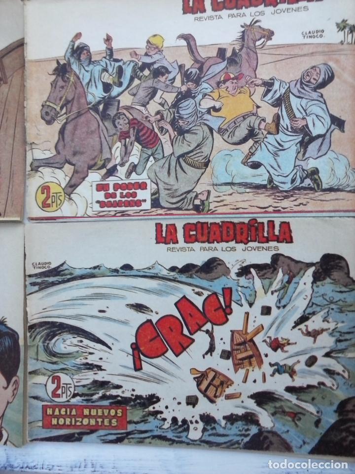 Tebeos: LA CUADRILLA ORIGINAL COMPLETA Y SUELTA - 1 AL 45 - EDI. MAGA 1961 -VER TODAS LAS PORTADAS - Foto 34 - 102019691