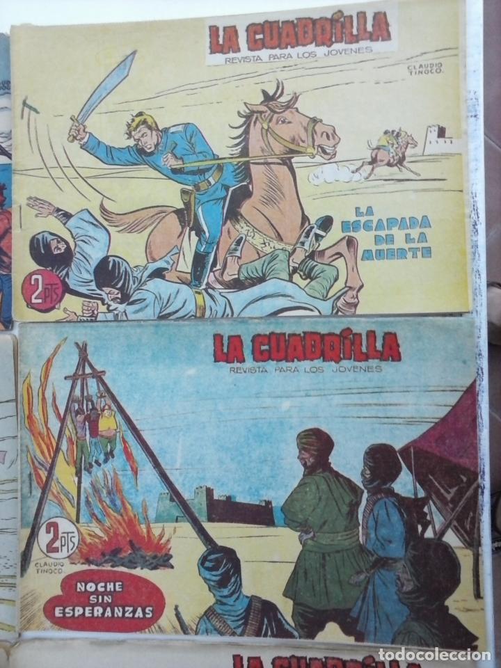 Tebeos: LA CUADRILLA ORIGINAL COMPLETA Y SUELTA - 1 AL 45 - EDI. MAGA 1961 -VER TODAS LAS PORTADAS - Foto 35 - 102019691