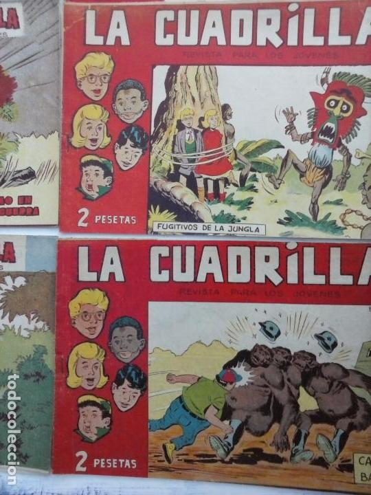 Tebeos: LA CUADRILLA ORIGINAL COMPLETA Y SUELTA - 1 AL 45 - EDI. MAGA 1961 -VER TODAS LAS PORTADAS - Foto 36 - 102019691