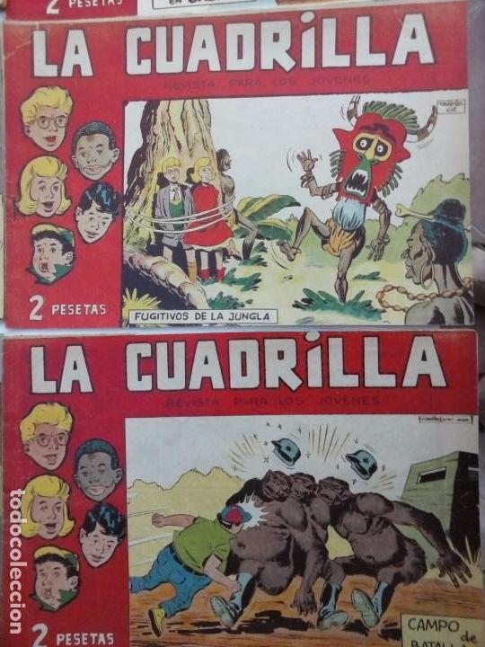 Tebeos: LA CUADRILLA ORIGINAL COMPLETA Y SUELTA - 1 AL 45 - EDI. MAGA 1961 -VER TODAS LAS PORTADAS - Foto 37 - 102019691