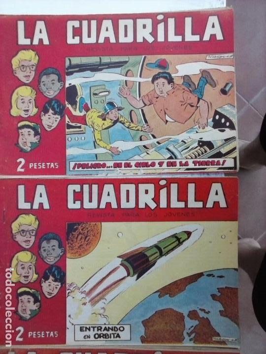 Tebeos: LA CUADRILLA ORIGINAL COMPLETA Y SUELTA - 1 AL 45 - EDI. MAGA 1961 -VER TODAS LAS PORTADAS - Foto 38 - 102019691