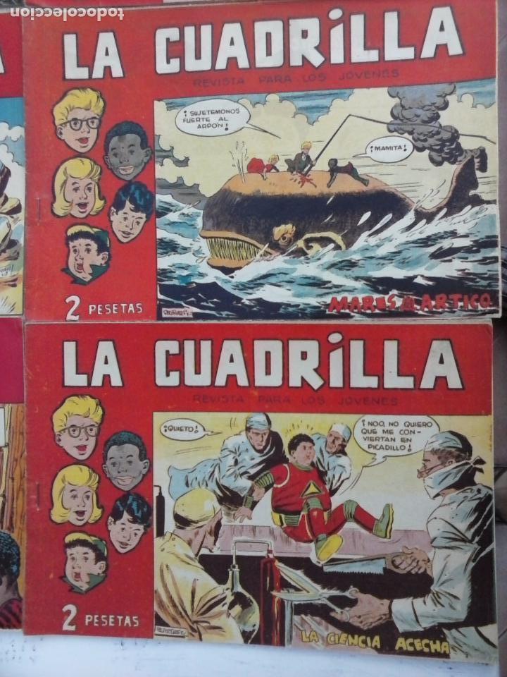 Tebeos: LA CUADRILLA ORIGINAL COMPLETA Y SUELTA - 1 AL 45 - EDI. MAGA 1961 -VER TODAS LAS PORTADAS - Foto 39 - 102019691