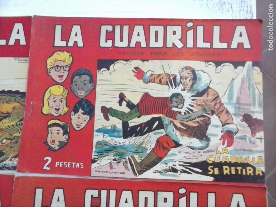 Tebeos: LA CUADRILLA ORIGINAL COMPLETA Y SUELTA - 1 AL 45 - EDI. MAGA 1961 -VER TODAS LAS PORTADAS - Foto 40 - 102019691