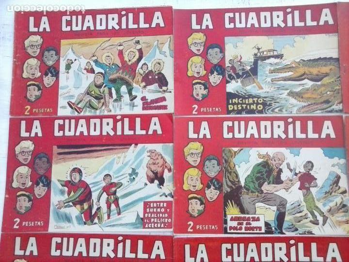 Tebeos: LA CUADRILLA ORIGINAL COMPLETA Y SUELTA - 1 AL 45 - EDI. MAGA 1961 -VER TODAS LAS PORTADAS - Foto 41 - 102019691