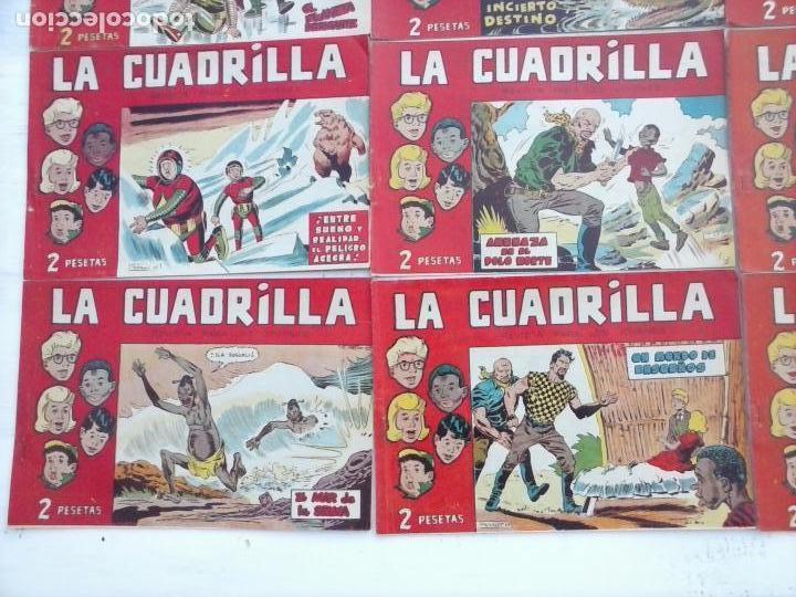 Tebeos: LA CUADRILLA ORIGINAL COMPLETA Y SUELTA - 1 AL 45 - EDI. MAGA 1961 -VER TODAS LAS PORTADAS - Foto 42 - 102019691