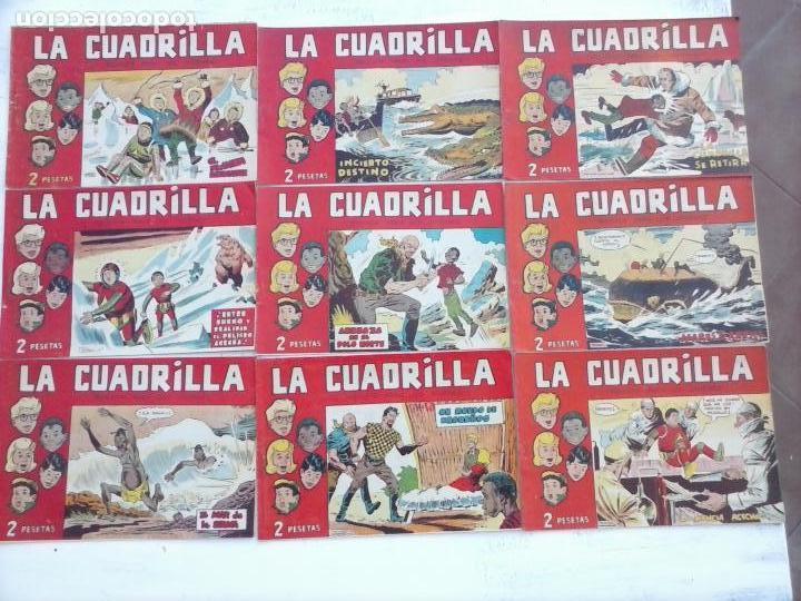 Tebeos: LA CUADRILLA ORIGINAL COMPLETA Y SUELTA - 1 AL 45 - EDI. MAGA 1961 -VER TODAS LAS PORTADAS - Foto 43 - 102019691