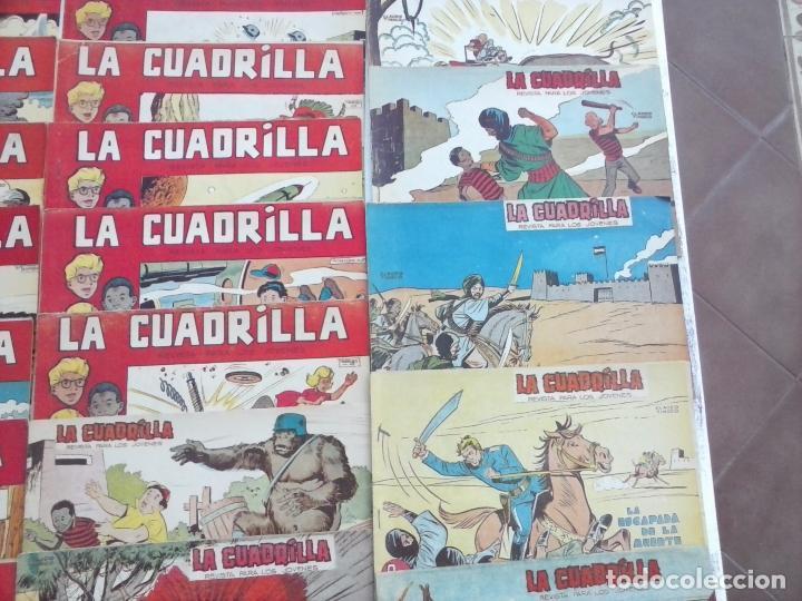 Tebeos: LA CUADRILLA ORIGINAL COMPLETA Y SUELTA - 1 AL 45 - EDI. MAGA 1961 -VER TODAS LAS PORTADAS - Foto 44 - 102019691