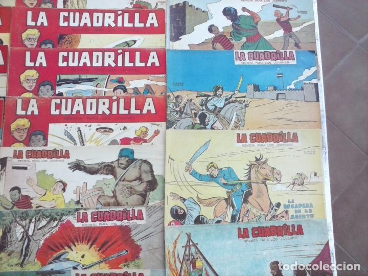 Tebeos: LA CUADRILLA ORIGINAL COMPLETA Y SUELTA - 1 AL 45 - EDI. MAGA 1961 -VER TODAS LAS PORTADAS - Foto 45 - 102019691