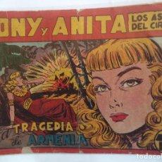 Tebeos: TONI Y ANITA Nº 70 ORIGINAL 1ª PARTE. Lote 102615587