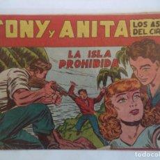 Giornalini: TONI Y ANITA Nº 37 ORIGINAL 1ª PARTE. Lote 102681327