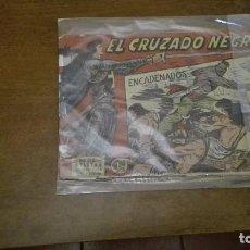 Tebeos: EL CRUZADO NEGRO. Lote 103116019