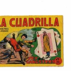 Tebeos: LA CUADRILLA Nº 8 -ORIGINAL-. Lote 103642591
