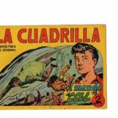 Tebeos: LA CUADRILLA Nº 11 -ORIGINAL-. Lote 103642631