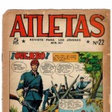 Tebeos: ATLETAS NÚMEROS 22 Y 27 -ORIGINALES- 1965.. Lote 103642807