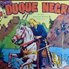 Tebeos: EL DUQUE NEGRO (MAGA) COMPLETA. 42 NÚMEROS REEDITADOS EN UN TOMO DE LUJO (DIBUJOS DE M. GAGO). Lote 103799623