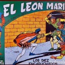 Tebeos: EL LEON MARINO (MAGA) COMPLETA. 24 NÚMEROS REEDITADOS EN UN TOMO DE LUJO (DIBUJOS DE TINOCO). Lote 103808095