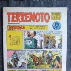 Tebeos: TERREMOTO PRESENTA BENGALA Nº 28 ORIGINAL MAGA. Lote 103829283