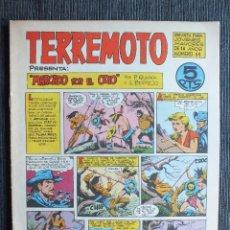 Tebeos: TERREMOTO MARCADO POR EL ODIO Nº 11 ORIGINAL MAGA. Lote 103830491