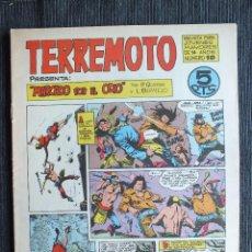 Tebeos: TERREMOTO MARCADO POR EL ODIO Nº 10 ORIGINAL MAGA. Lote 103830559