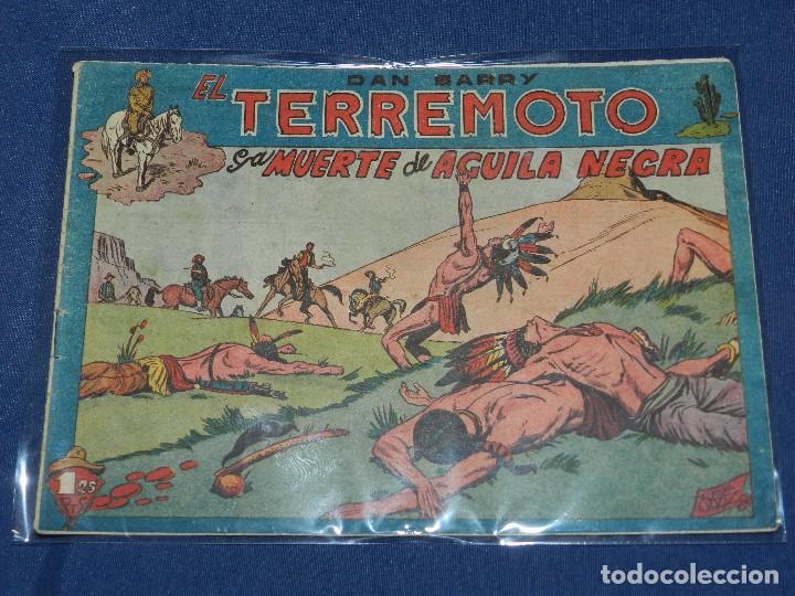 (M4) DAN BARRY , EL TERREMOTO NUM 17 EDT MAGA, SEÑALES DE USO (Tebeos y Comics - Maga - Dan Barry)