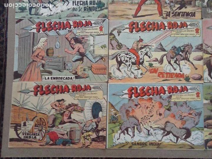 Tebeos: FLECHA ROJA ORIGINAL COMPLETA 1 AL 79 - 1962 MAGA - EXCELENTE ESTADO, VER PORTADAS - Foto 15 - 103978683