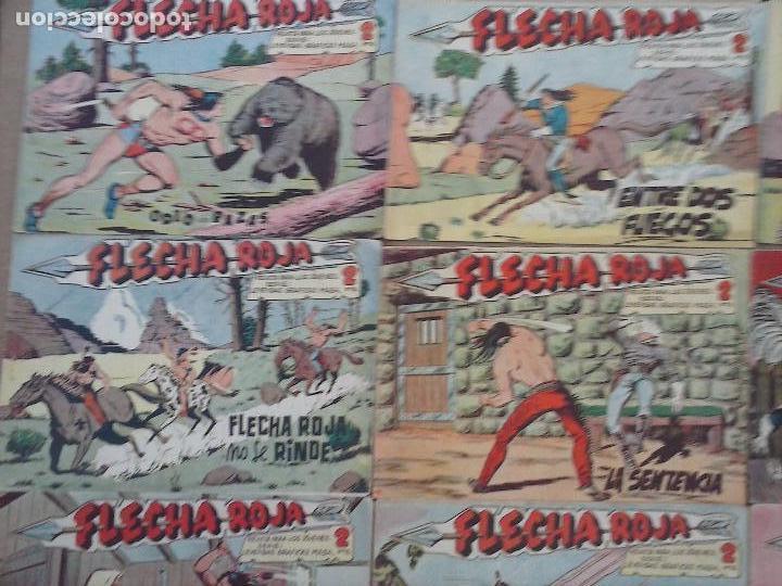 Tebeos: FLECHA ROJA ORIGINAL COMPLETA 1 AL 79 - 1962 MAGA - EXCELENTE ESTADO, VER PORTADAS - Foto 22 - 103978683