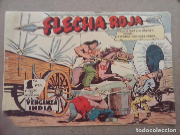 Tebeos: FLECHA ROJA ORIGINAL COMPLETA 1 AL 79 - 1962 MAGA - EXCELENTE ESTADO, VER PORTADAS - Foto 27 - 103978683