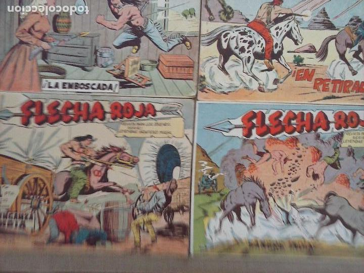 Tebeos: FLECHA ROJA ORIGINAL COMPLETA 1 AL 79 - 1962 MAGA - EXCELENTE ESTADO, VER PORTADAS - Foto 30 - 103978683