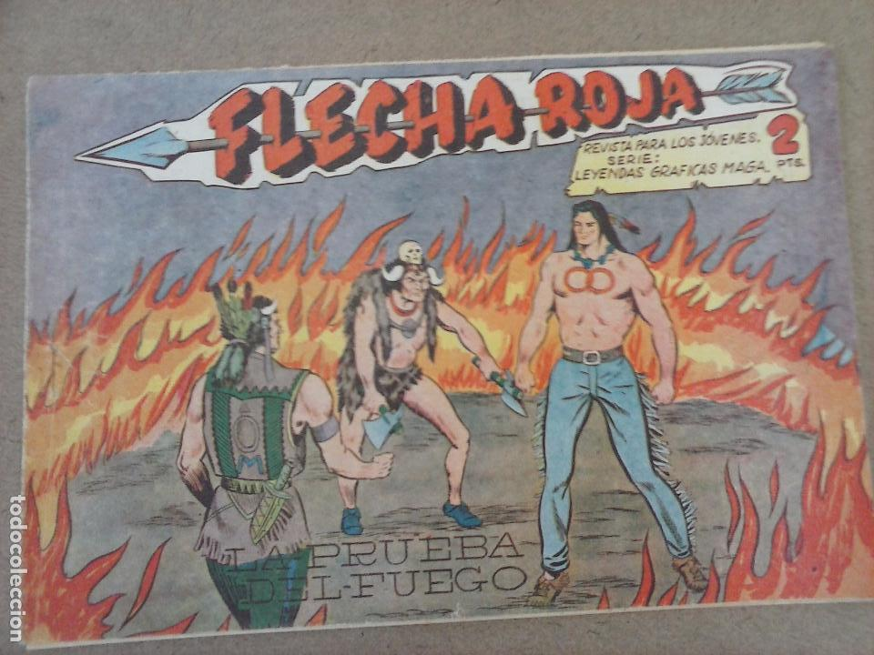 Tebeos: FLECHA ROJA ORIGINAL COMPLETA 1 AL 79 - 1962 MAGA - EXCELENTE ESTADO, VER PORTADAS - Foto 34 - 103978683