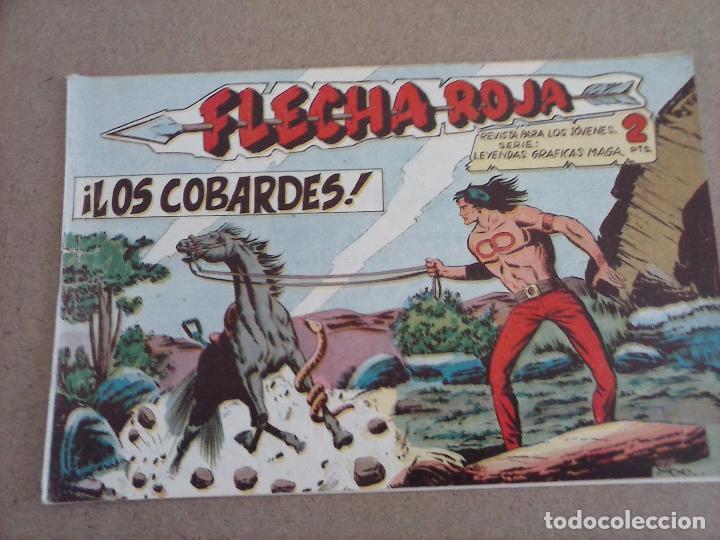 Tebeos: FLECHA ROJA ORIGINAL COMPLETA 1 AL 79 - 1962 MAGA - EXCELENTE ESTADO, VER PORTADAS - Foto 37 - 103978683